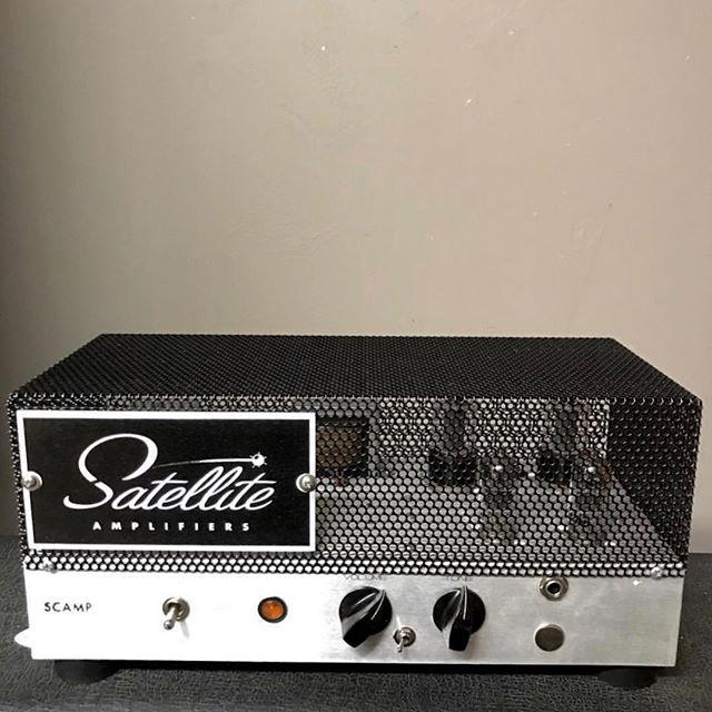If you've wanted a @satelliteamps but found them out of your price range this is your chance.  Not a bedroom amp.  Not a gimmick. The 22 watt Scamp sounds great and you can pre-order right now for 799. I've played one and I loved it.