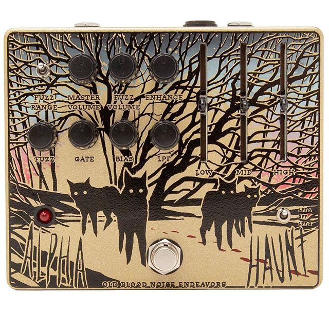 One of my all time favorite pedals has crawled its way out of the forrest and wants control of the pack. @oldbloodnoise Alpha Haunt