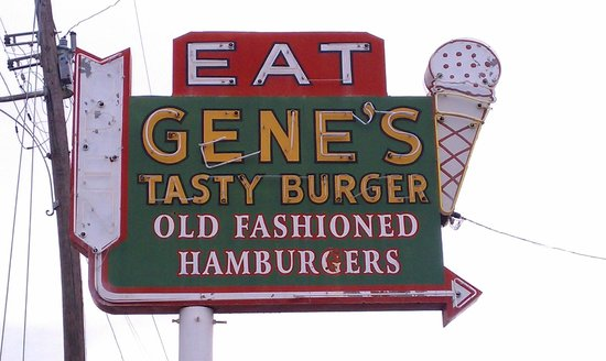 Food of Note: - Gene's Tasty BurgerFacebook: Click Here2310 Holliday Rd, Wichita Falls, TX 76301This place is a no frills, no nonsense, middle of no where joint. I found it after I failed at finding to eat at a previous burger joint not too far away because it was closed. This place is SOUTHERN and I mean that in every GOOD way. Hardy cheeseburgers, hush puppies with tartar sauce, OG vanilla milkshakes. Totally worth pulling off into an unfamiliar area. Delicious.