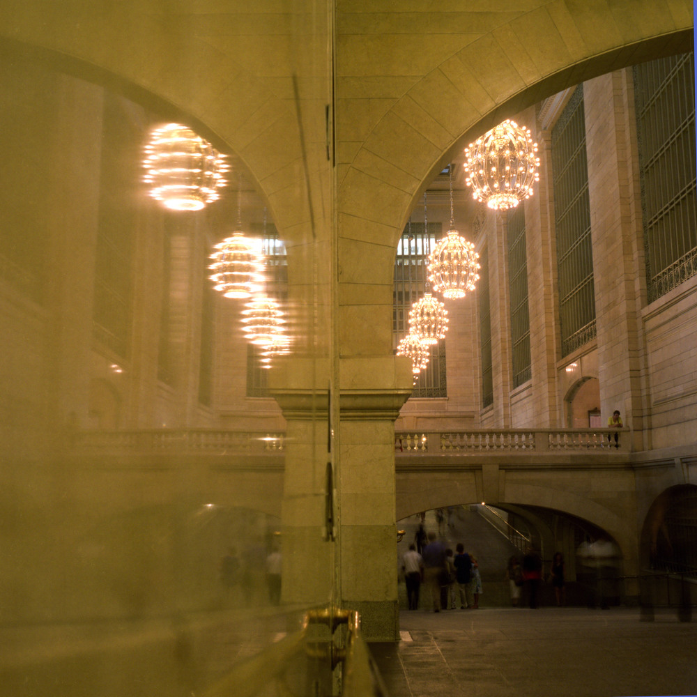 Grand Central Station Pedestrian Thoroughfare New York, New York 2012 C-Print