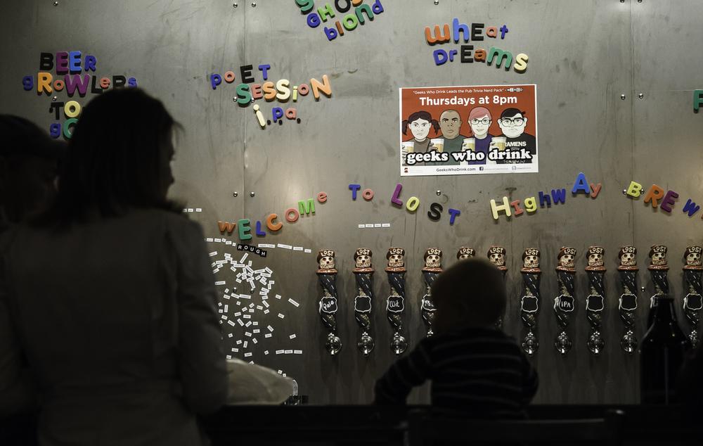 Beer Me - Lost Highway Brewery