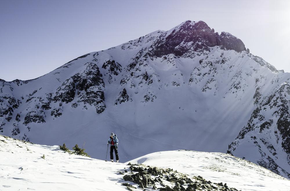 Sultan Mtn's Northstar Col - San Juan Range, CO
