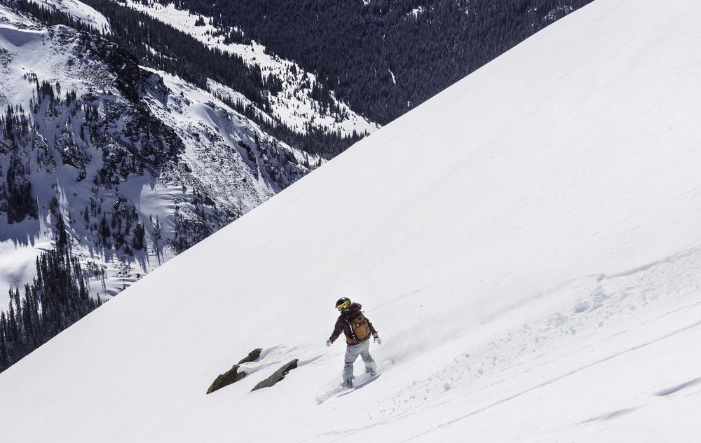 "The ""Silver Wave"" - Santa Fe Peak (13,180')"