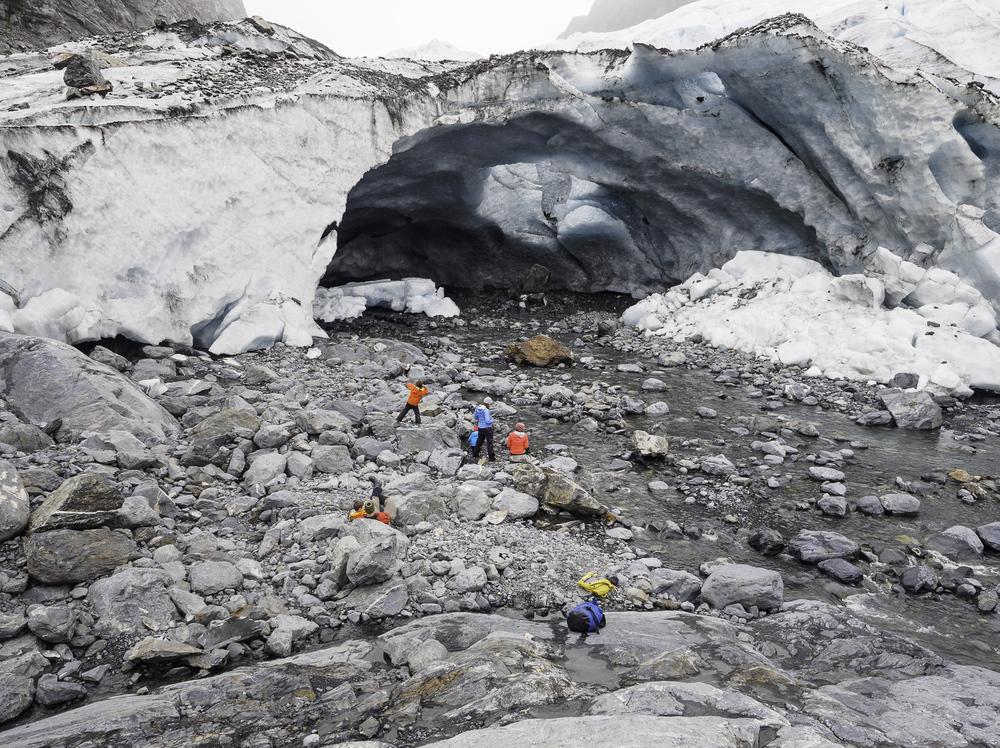 Glacier Cave Exploration - Lawrence Glacier