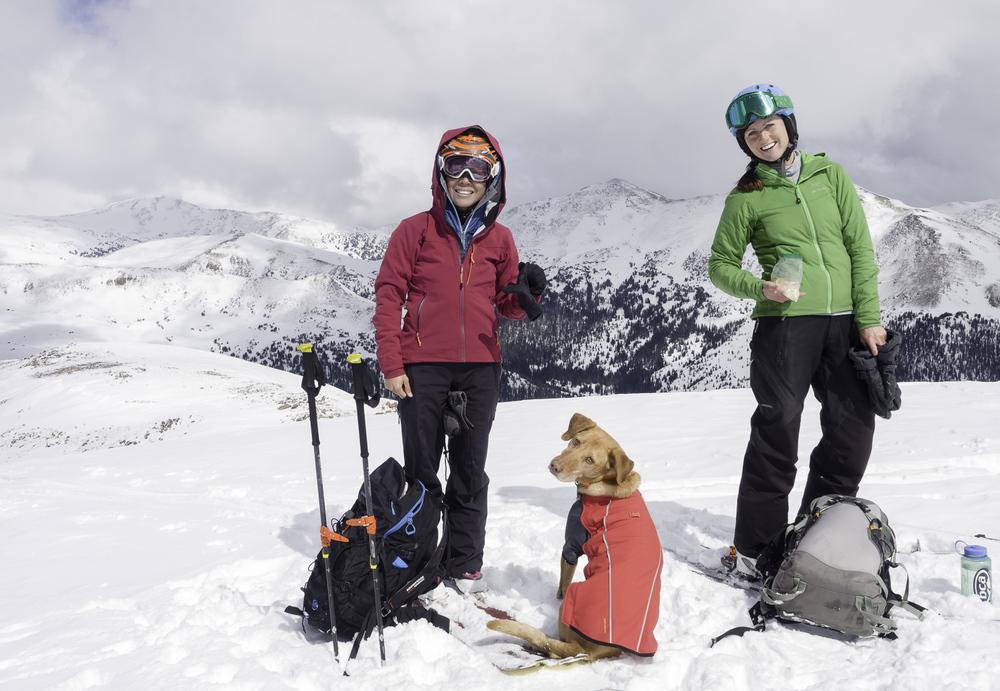 Summit Shot - Shirley, Lucy, Jamie