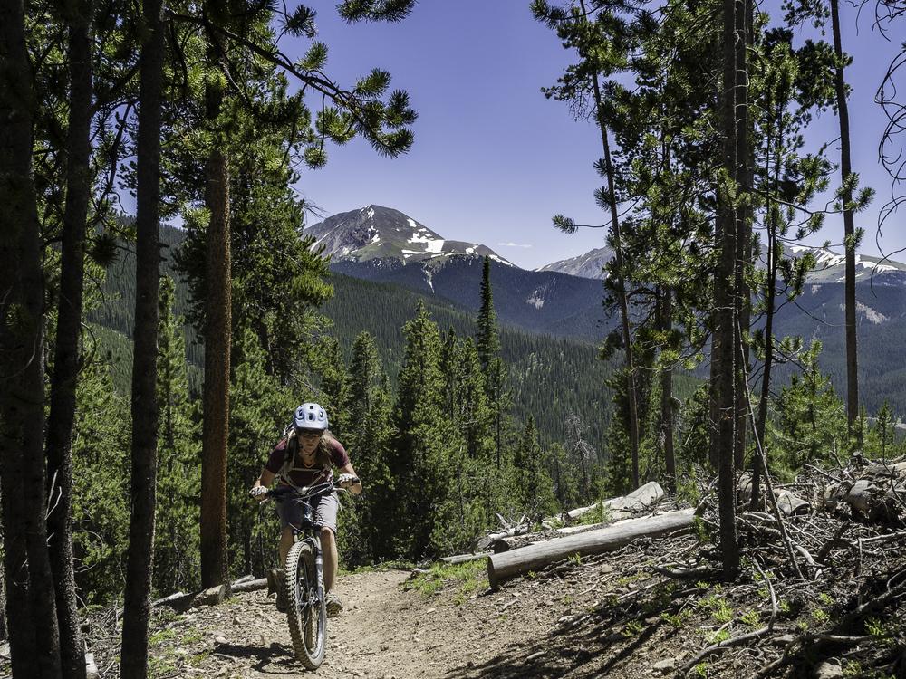 The climb before the goods -Colorado Trail: Segment 6