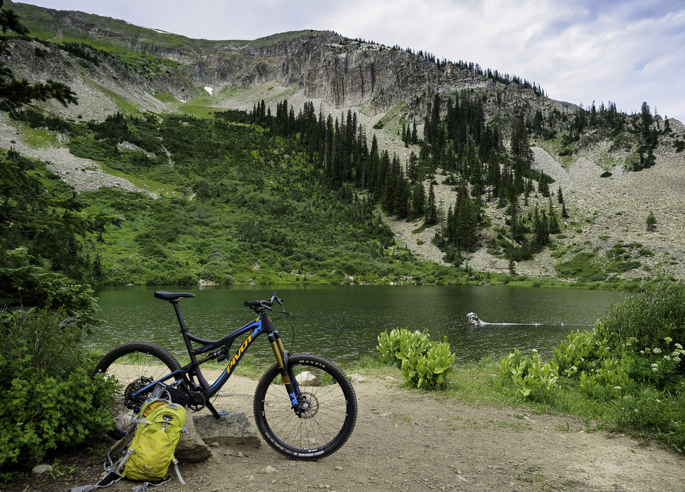 Resting before the Downhill - Green Lake Trail
