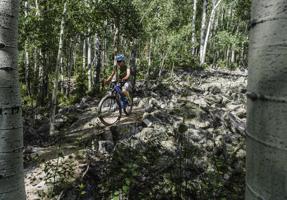 Pick your Line - Trail 409 - Kristin