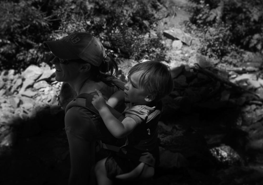Hiking - Kristin & Liam