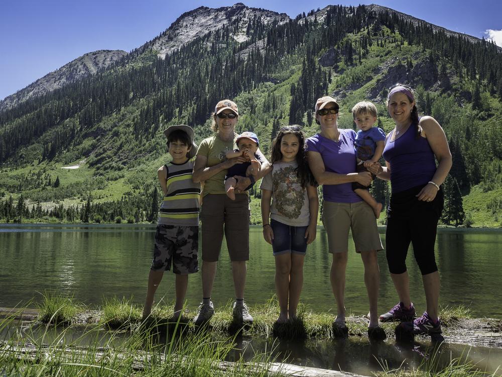 The Crew - Brodie, Gma, Declan, Jaide, K, Liam, Wendy (Sissy)