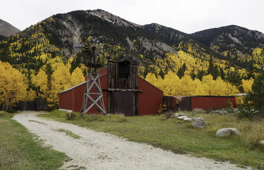 An Old Stagecoach Stop in Route to Aspen