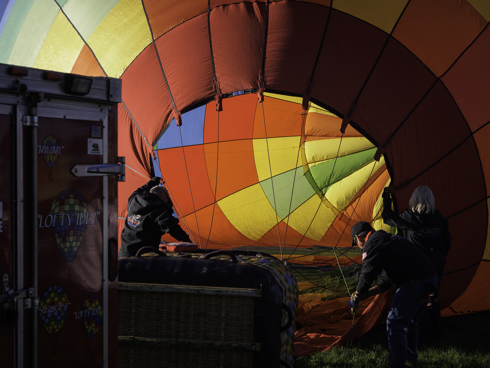 Inflation - Albuquerque International Balloon Fiesta