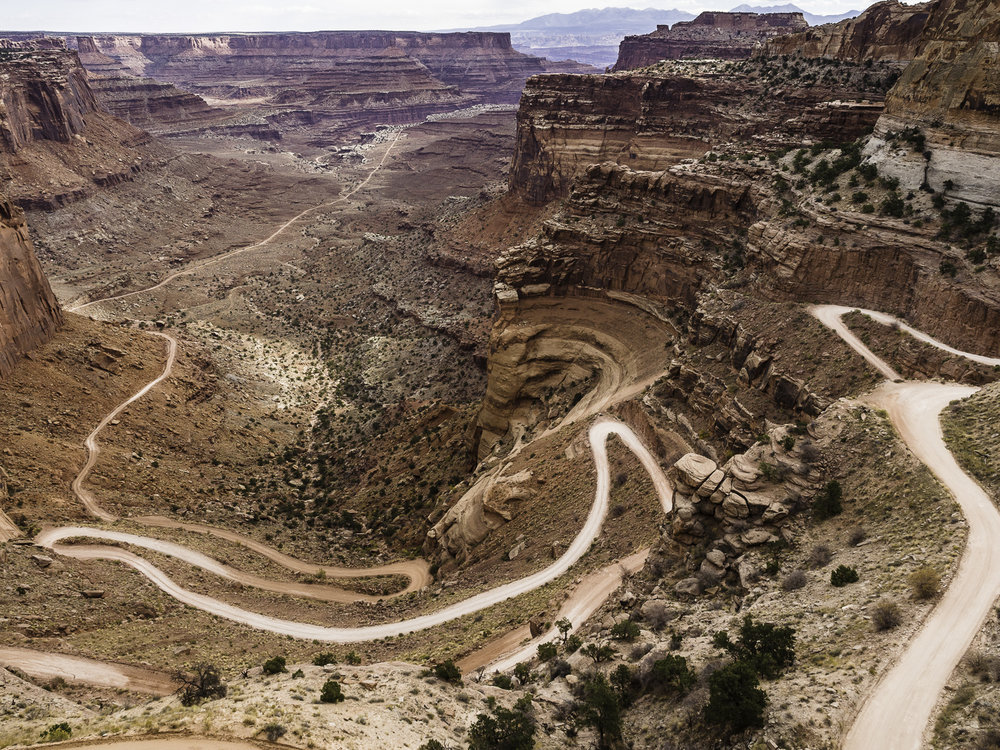Shafer Canyon Road - Canyonlands National Park
