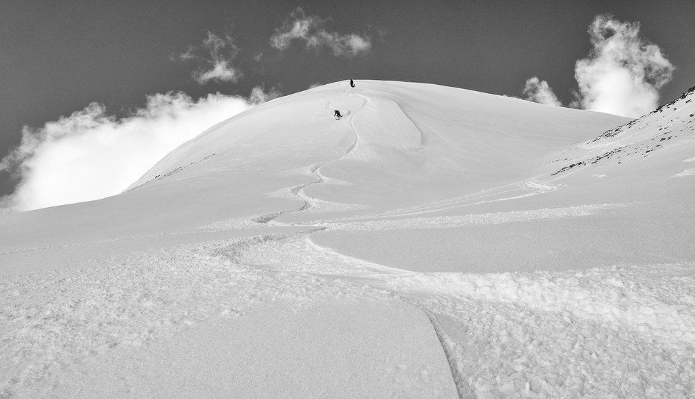 Summit bump - 12774'