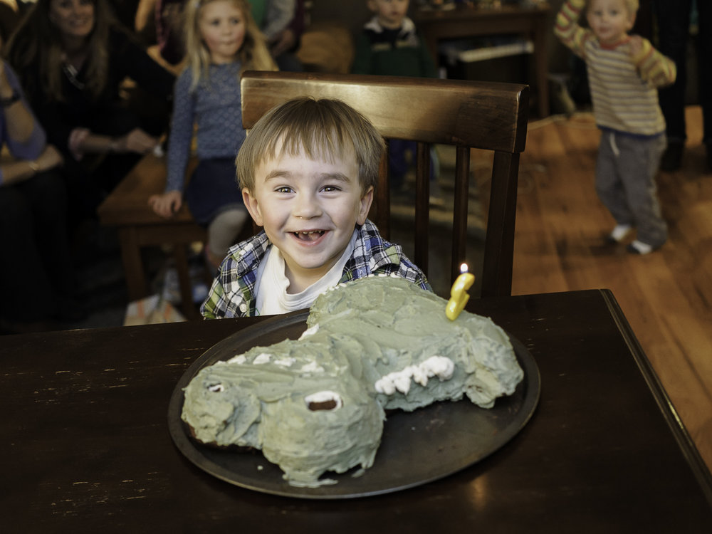 Happy Birthday Big Man - Thanks Mom!  For My Dino Cake