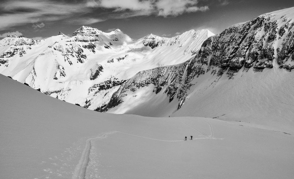 High Alpine Beauty - Kristin, Todd, Colleen