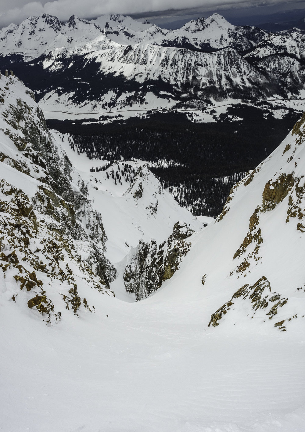 "Steep, Deep and a Roadmap Required - The ""Illusion"" Couloir"