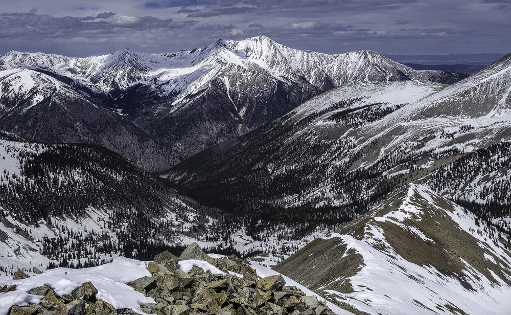 Mt. Princeton from Cronin's North Ridge