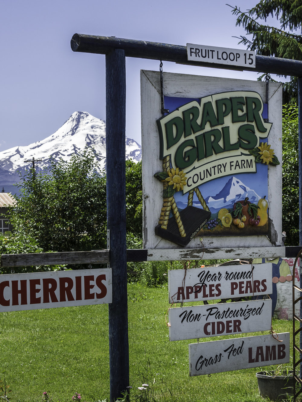 Draper Girls - Mt Hood, OR