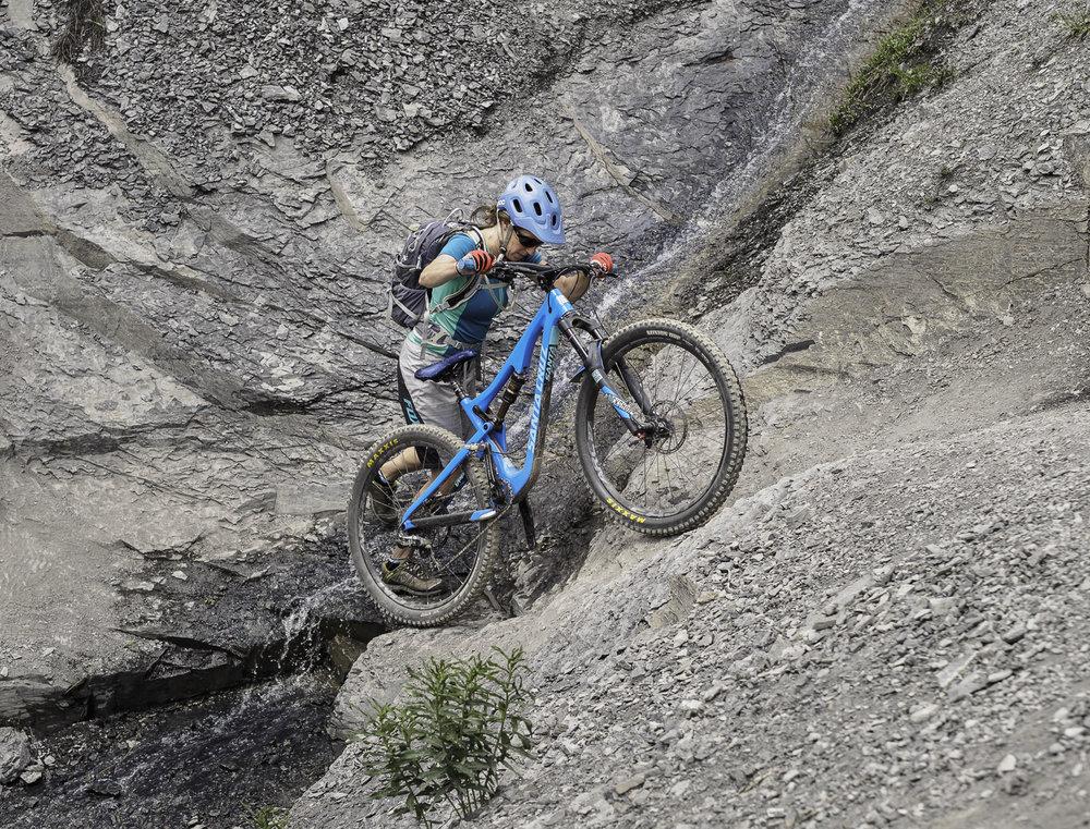 """The """"Water Runnel"""" - Mandatory Hike a Bike Gnar"""