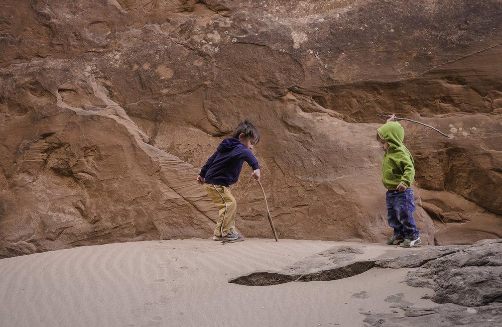 Stick Fight - Moab