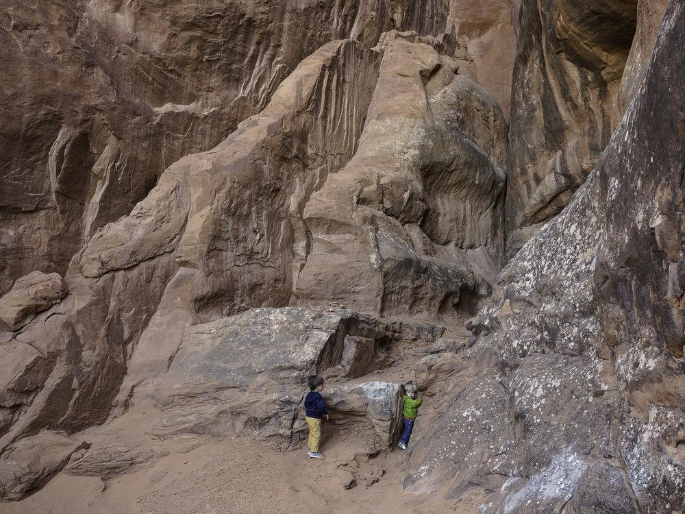 Scrambling - Moab