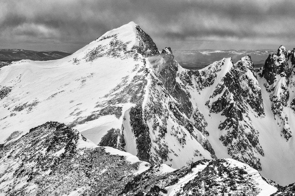 Future Ski Project - Ramp to Col