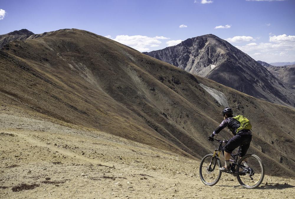 Moonscape Biking - Jeff Lark
