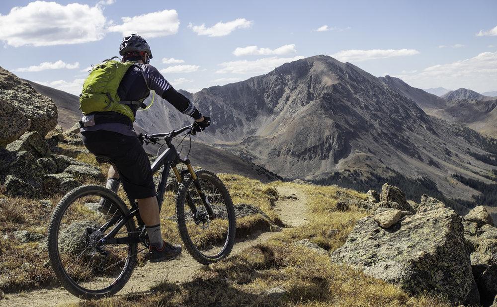 Perfect Alpine Singletrack - Jeff Lark
