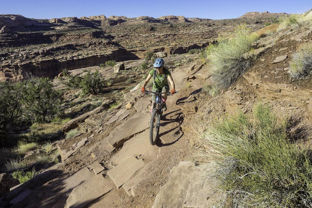 Porcupine Rim Trail - Moab, UT