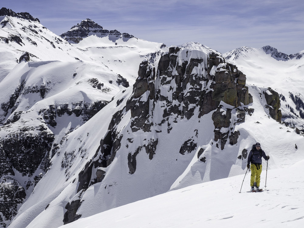 Which couloir today? - Kevin