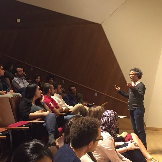 closing address at our #IvyArab conference by Professor Taofik Ben-Amor