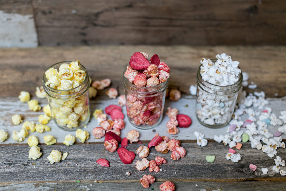 Hand-Crafted - Each flavor of Miss Hannah's Gourmet Popcorn is dreamt up and created from scratch. They come from suggestions and seasonally inspired ideas, always with our customers in mind.If we wouldn't eat the whole bag, we don't sell it!