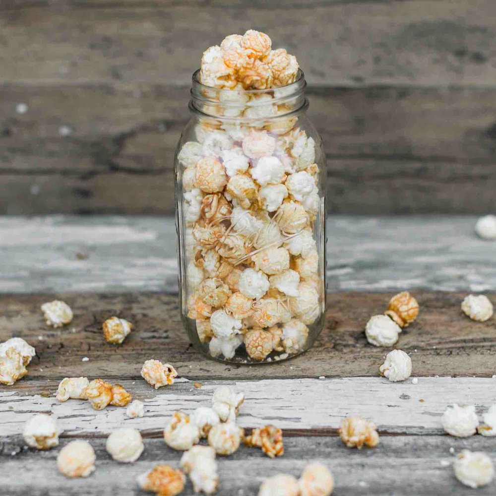 Bridge City Mix - A perfect blend of cheese, caramel and kettle corn!Gluten FreeContains Dairy