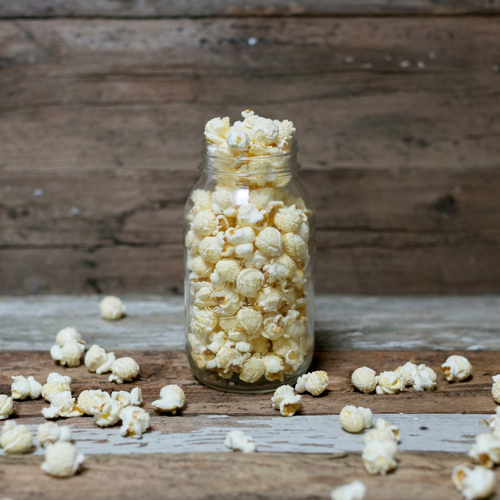 Buttery Salt - The classic salty and buttery snack.Dairy & Gluten FreeVegan
