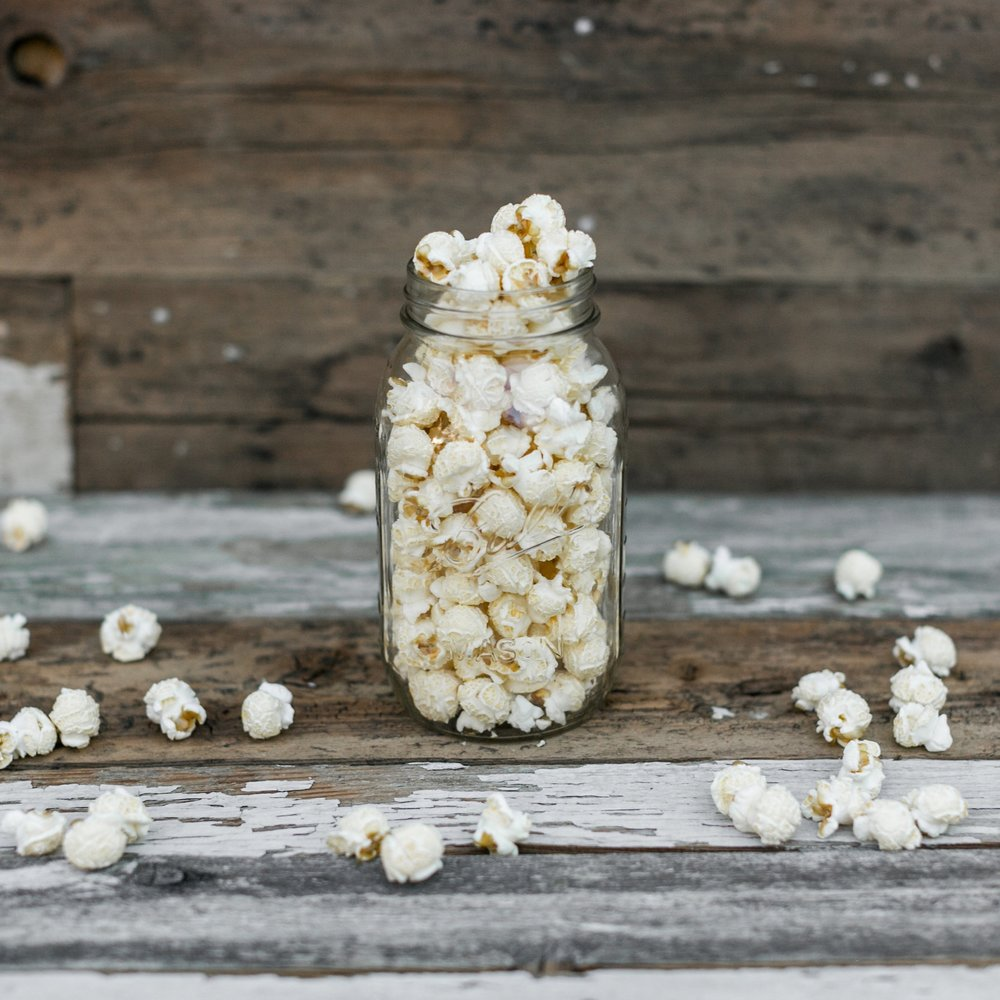 Kettle Corn - The classic crunchy snack that's lightly sweetened and lightly salted.Dairy & Gluten FreeVegan