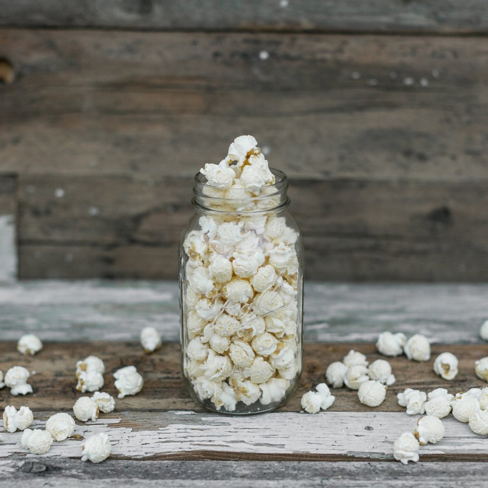 Pickles & Popcorn - This savory dill treat will be sure to surprise you!Gluten FreeContains Dairy