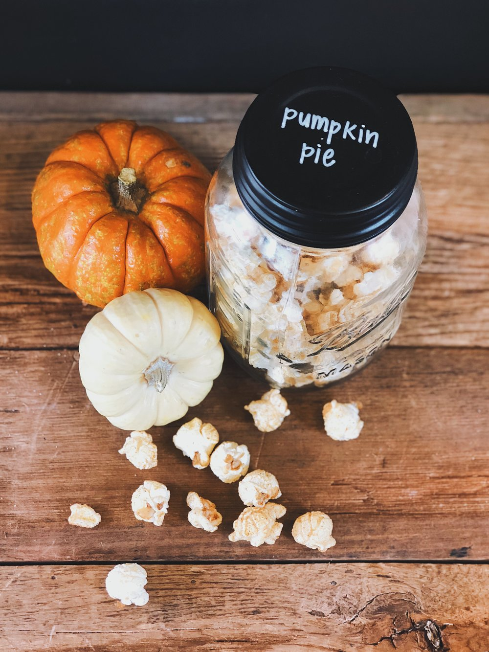 Pumpkin Pie - A blend of spices, just like grandma makes!Available October - NovemberDairy & Gluten FreeVegan