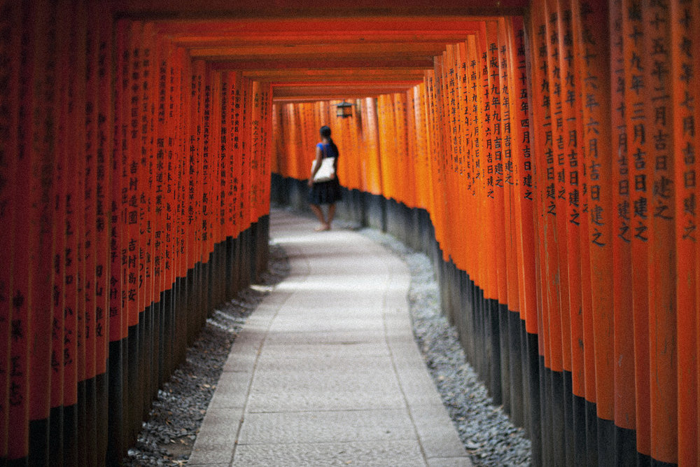 Torii Gate at Fushimi Inari Shrine
