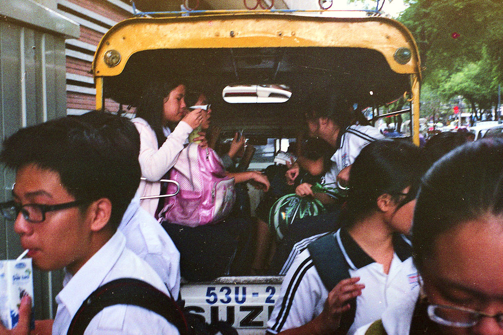 School Kids Going Home