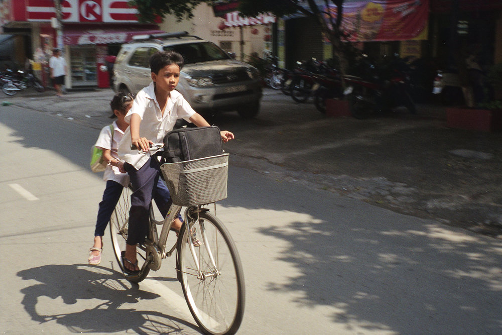 Two Kids on Bike