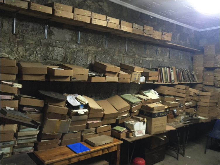 The archive in August 2015
