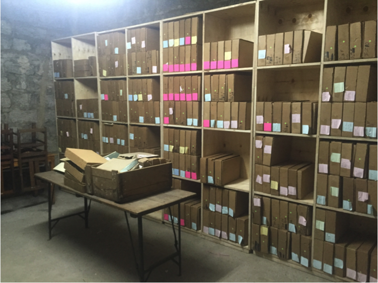 The archive in March 2016