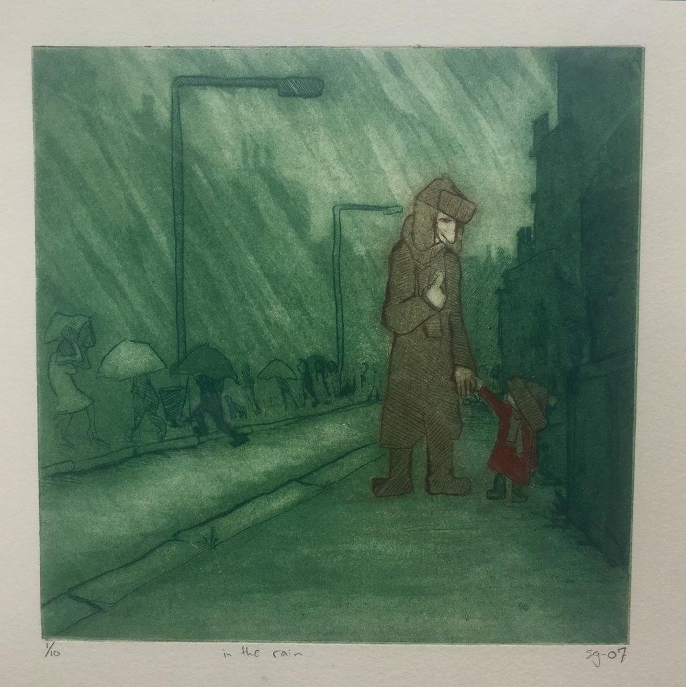"""""""In the Rain' -Staffan Gnosspelius"""