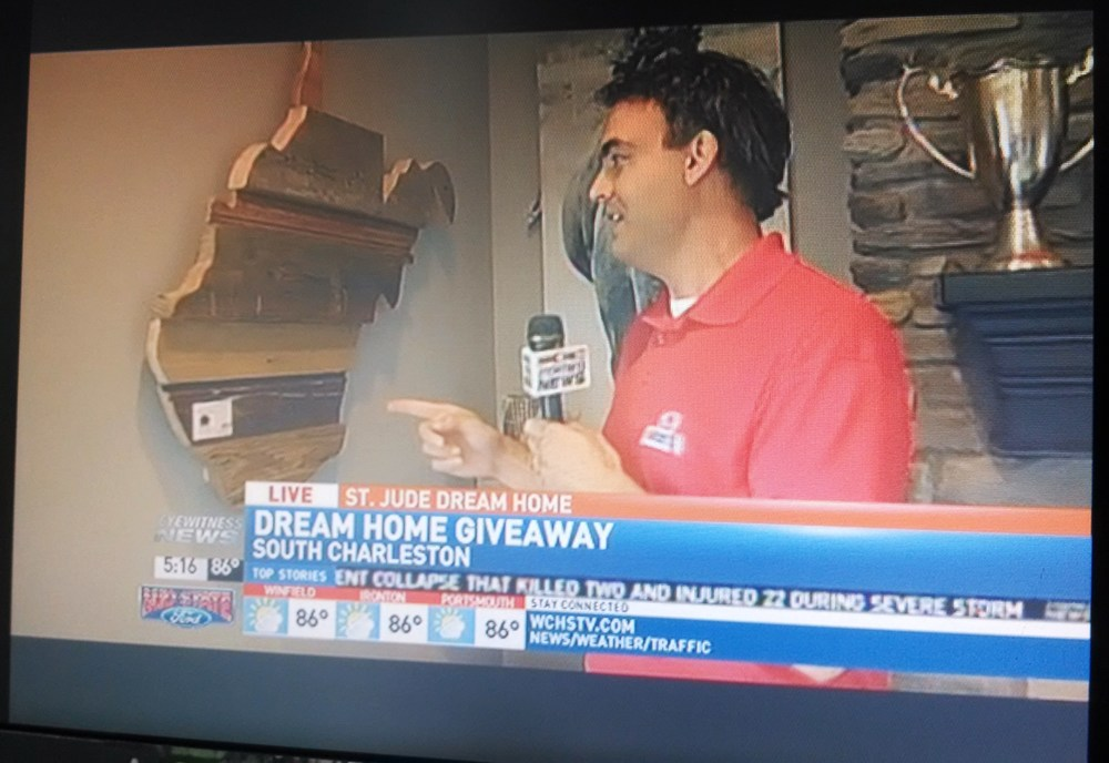 Bear Wood Company is featured live during the WCHS FOX 11 St Jude Dream Home giveaway.