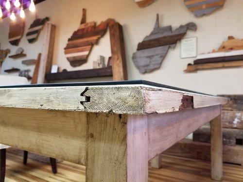 Antique Door Tables - Antique Door Tables — Bear Wood Company