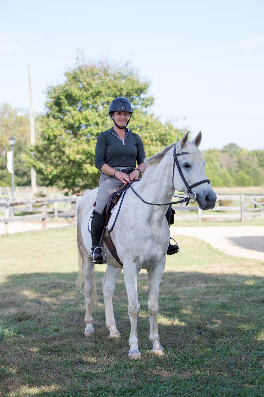 """I cannot say enough good things about Robbie's level of horsemanship and how he has helped me develop as a rider and a trainer! Big thanks to you, Robbie!"" - - Michele Parrish"