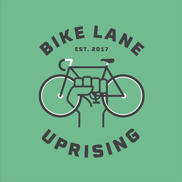 New logo for our friends at Bike Lane Uprising! As someone who's been commuting via bike for many years & has had their fair share of close calls, it was my absolute pleasure to be a part of this amazing movement. If you're not a contributor yet, sign up to report bike lane violations (in Chicago and beyond) over at bikelaneuprising.com 🙏🏻🚴🏻‍♀️🚴🏻‍♂️
