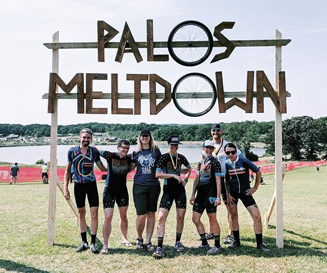 Melted at the Palos Meltdown today but the Half Acre Ladies crushed it anyway despite the 100 degree temps 🙌🏻.