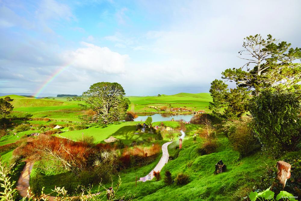「The Shire」地區,新西蘭人稱之為「Matamata」,《指環王》系列影片中,霍比特人的家鄉,是「指環迷」必看的景點。